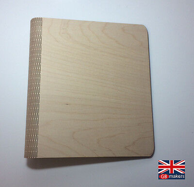Wooden Ring Binder Living Hinge Wood A4 A3 Portrait Landscape Birch Plywood Ply