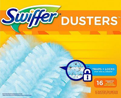Swiffer 180 Dusters Refills Unscented 16 Count Swiffer 84852329 TRAP + LOCK AOI