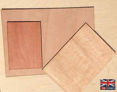 Plywood Sheets Ply Sheet A5 A4 A3 500mm^2 3mm 6mm Wooden Wood Board Boards