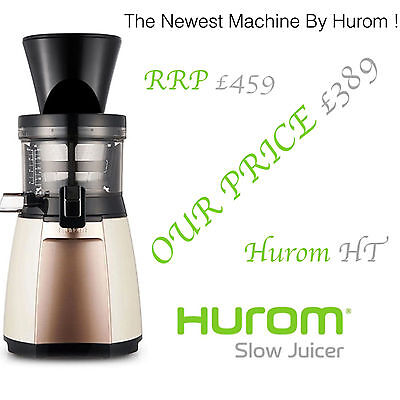 Hurom Slow Juicer 2ND GENERATION HT - NEWEST MODEL