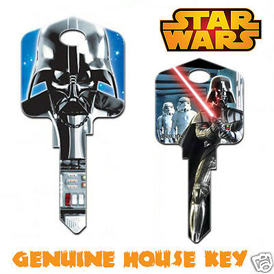 STAR WARS - DARTH VADER Collectable Genuine Front Door House Key Blank!