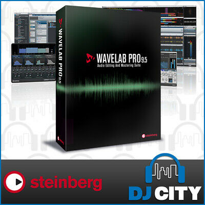 Steinberg WaveLab Pro 9 Software Full Version Industry-Standard Production