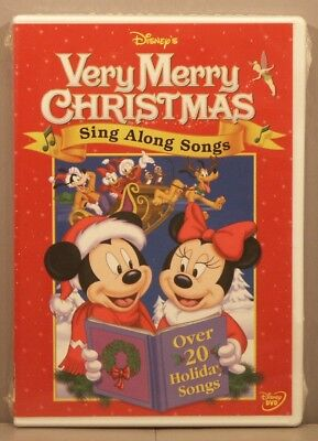 Disney Sing Along Songs Very Merry Christmas Songs 2002.Disney Very Merry Christmas Sing Along Songs