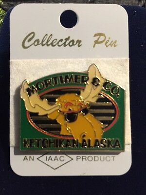 Mortimer & Co. Moose Ketchikan, Alaska New On Card