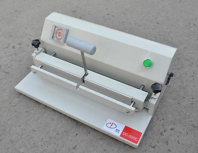 Brand New 220V Desktop Electric Book Hardcover Groove Pressing Machine 50mm E
