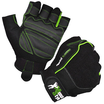 "Muscle Style ""Fit-2"" Fitness Handschuhe Trainingshandschuhe besser Griff Grip"