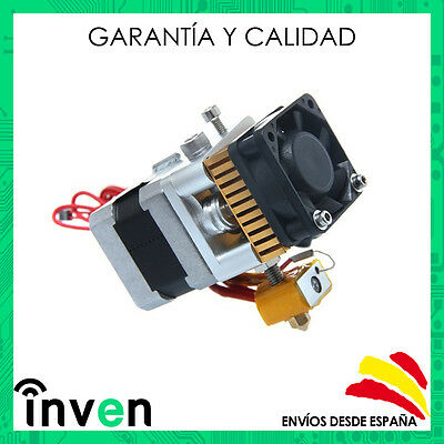 """Extrusor completo """"Direct Drive"""" MK8  0.4mm 1.75mm"""