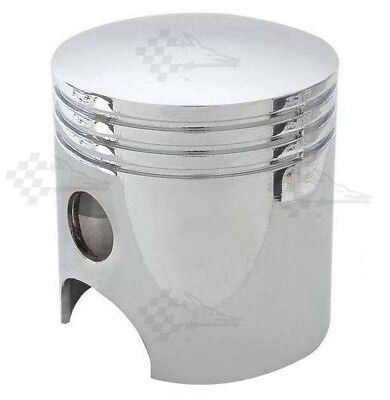 Chrome Piston Style Gear Shift Shifter Knob