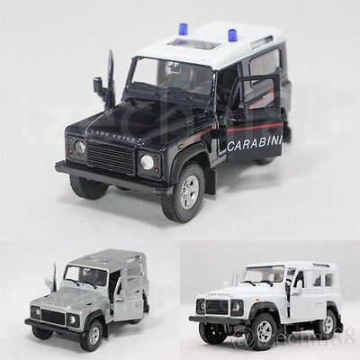 Welly 1:34-1:39 Die Cast Land Rover Defender Car 3 Color Model Collection New