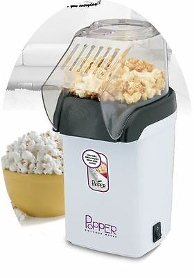 TheBigShip® 1200Watt Electric Hot Air Popcorn Maker Poppers - Pink/White (White)