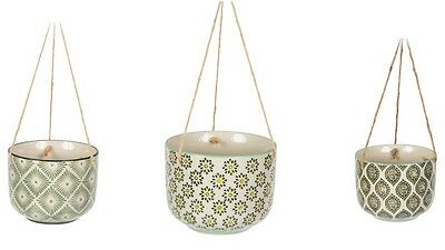Moroccan Inspired Hanging Plant Pot Holder - New Sass & Belle