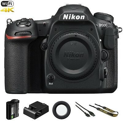 Nikon D500 / D 500 20.9 MP 4K Video WiFi DSLR Digital SLR Camera (Body Only)