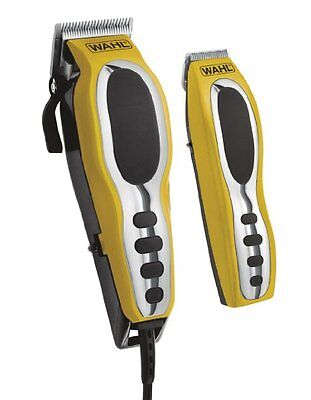 Wahl Groom Pro Haircut Kit #79520-3101 Wahl Shave & Hair Removal Yellow & Black