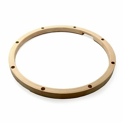 """12"""" 6 Lug Snare Side 22 Ply Unfinished Maple Hoop"""