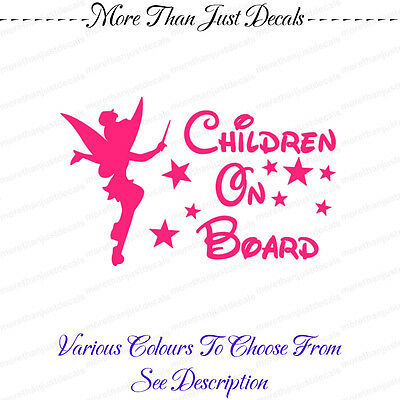 Children on Board Child Children Vehicle Car Decal Sticker (REF 140)