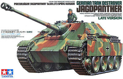 Tamiya 35203 1/35 Model German Sdkfz.173 Jagdpanther Tank Destroyer Late Version