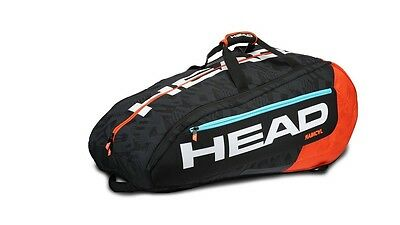 HEAD Borsa Porta Racchette RADICAL MONSTERCOMBI : Borsone Nuovo da Tennis 12 R