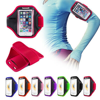 UK Sports Running Jogging Gym New Arm Band Strap Pouch For Various Mobile Phones