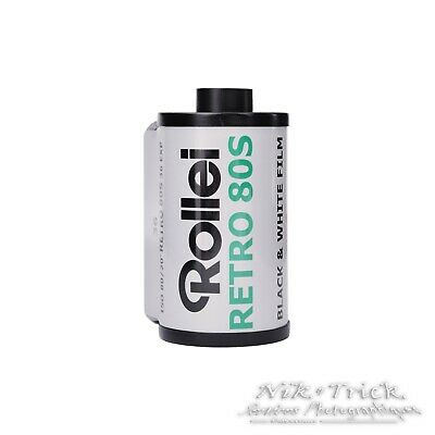 Rollei Retro 80s - 35mm 36 exp - Brand New Freshest UK Stock!