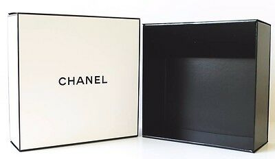 "Chanel Keepsake Gift Box Organizer Storage New 8"" X 8"" X 3"""