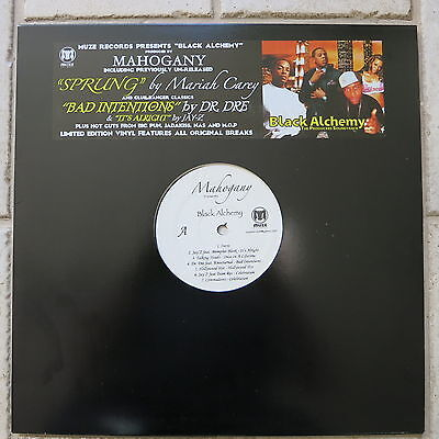 Mahogany presents Black Alchemy LP Jay-Z - Dr. Dre - Talking Heads - Big Pun MOP