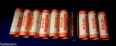 State Quarters BU Uncirculated- unsearched Rolls- 40 brilliant quarters @ roll