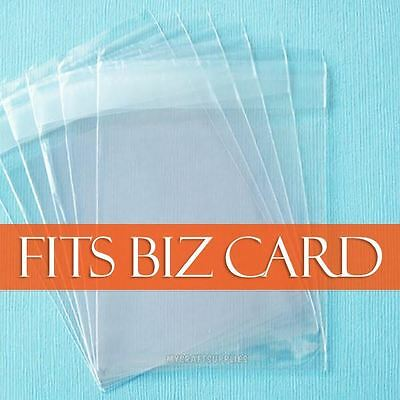 """100,  2 1/2""""  x  3 1/2"""" Resealable Clear Cello Bags, Self Adhesive Packaging"""