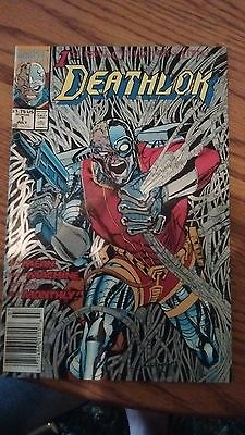Deathlok #1 (Jul 1991, Marvel) vf/nm