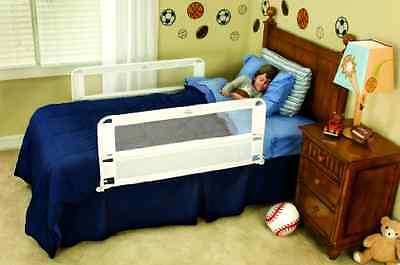 Regalo Double Sided Extra Long White Bed Secure Rail new free shipp