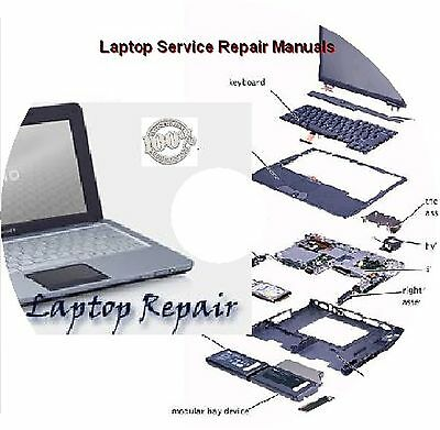 Laptops Service Repair Manuals for various of Laptop's brands on DVD - 2016