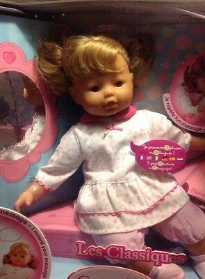 Corolle Talking Marie Doll Speaks Six Languages Htf New In Box