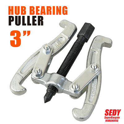 """Hub Bearing Puller 3"""" Professional Adjustable Two Arm Jaw Reversible Gear Puller"""