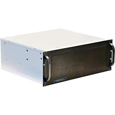 Norco RPC-431 4U Short Depth Rackmount Case with Rotating 9 x 3.5in Drive Cage