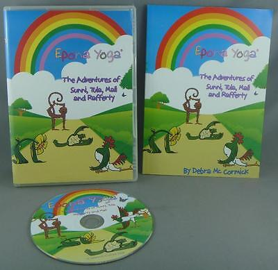 Epona Yoga for Kids DVD Region 4 (Australia) & Instruction Book Debra McCormick