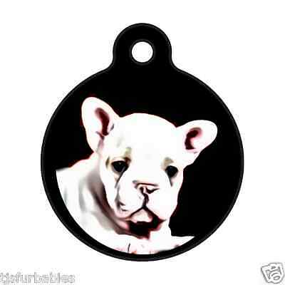 French Bulldog-Personalized Pet ID Tag for Dog & Cat Collars & Harnesses
