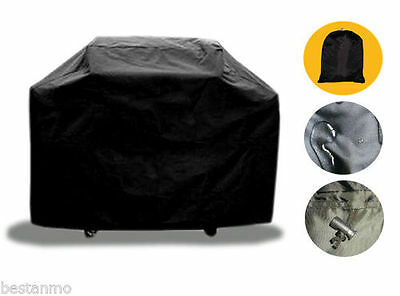 145cm BBQ Cover Outdoor Waterproof Barbecue Covers Garden Patio Grill Protector