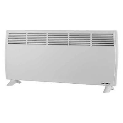 Heller 2000W Panel Convection Heater w/ Thermostat Heating Freestand/Wall Mount