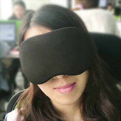 Travel Sleep Eye Mask 3D Memory Foam Padded Shade Cover Sleeping Blindfold Rest