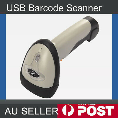 1.8M Cable USB Port Laser Barcode Scanner Bar Code Reader Decoder for Computer