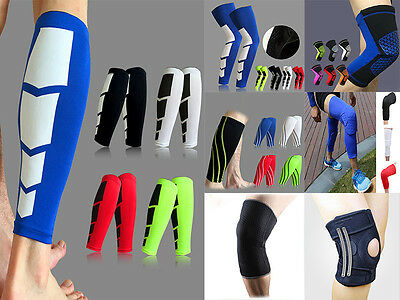 Knee/Calf Pad/Support Antislip Basketball Leg Knee Long Sleeve Protector Gear US