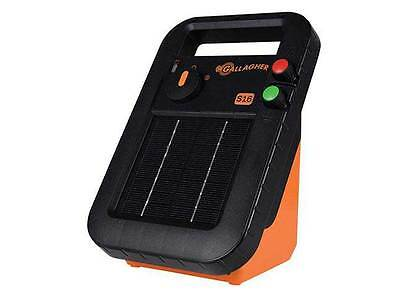 NEW MODEL GALLAGHER 1.5km S16 SOLAR Powered Electric Fence Energiser 5384