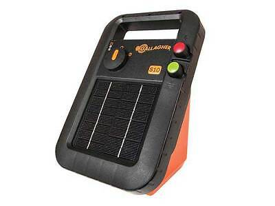 NEW MODEL GALLAGHER 1.0km S10 SOLAR Powered Electric Fence Energiser