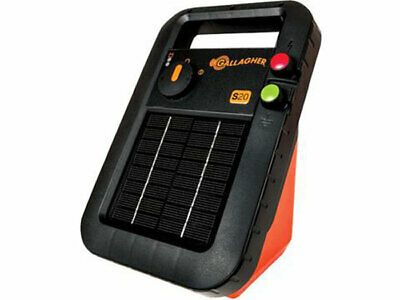 NEW MODEL GALLAGHER 2km S22 SOLAR Powered Electric Fence Energiser 5845