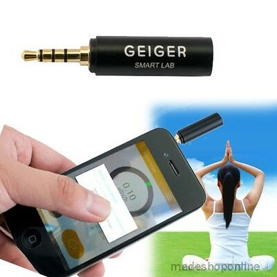 Smart Geiger Nuclear Radiation Detector Counter New For iOS iPhone Android Phone