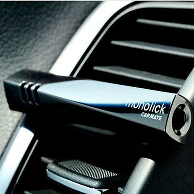 Black Smell Car Air Conditioning Vent Clip Perfume Air Freshener Fragrance