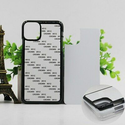 5X Blank 2D PC Sublimation Print Case For iphone XS Max XR X 8 7 6S plus 4s 5s