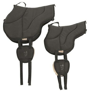 Barefoot Ride-On-Pad Pony braun Bareback Pad Kinder - top - Horse & Hound Celle