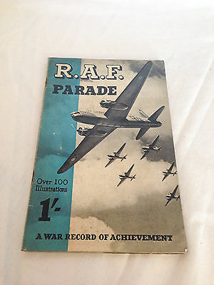 Vintage Aviation Magazine, Booklet: R.A.F. Parade, A War Record of Achievement