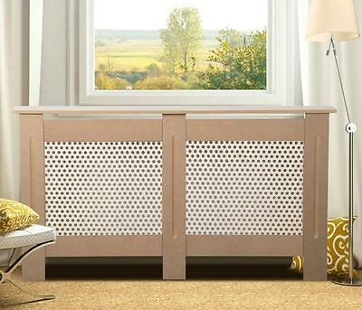 UnPainted Radiator Cover Wall Cabinet Wood MDF Traditional Modern