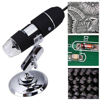2MP1000X USB Digital Microscope 8LED Endoscope Electronic Magnifier Video Camera